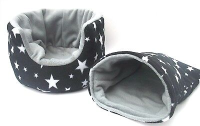 * 2 PIECE SET* COZY PETS guinea pig bed snuggle pouch cuddle cup * FREE POSTAGE*