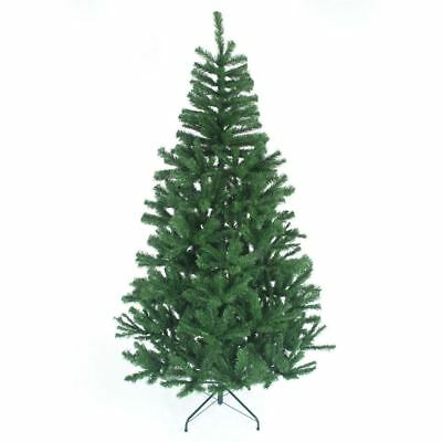 Traditional Indoor Christmas Tree Green,White & Black 4,5,6,7 FT Xmas Decoration
