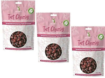 3 x 125g DR SUPERFOODS Super Cranberries