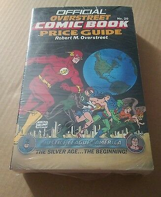 OFFICIAL OVERSTREET COMIC BOOK PRICE GUIDE #20 Justice League 1990 COLLECTIBLE
