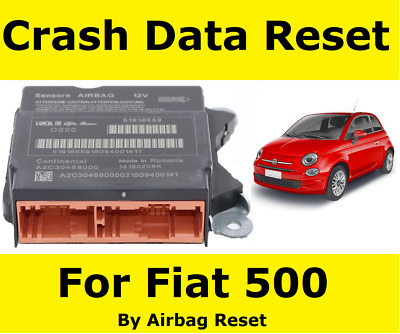 Fiat 500 Airbag Module Crash Data Reset Service By Post