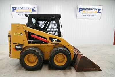 2014 Cat 226B3 Skid Steer Wheel Loader, Open Rops, 56 Hp, 3000 Lb Tipping Load!