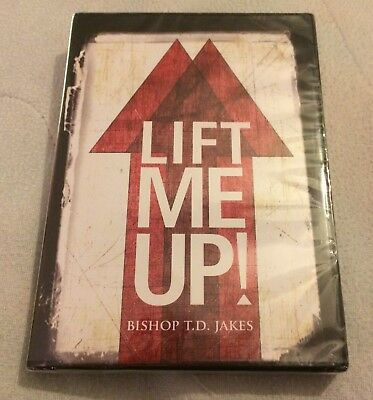 T.D. Jakes LIFT ME UP! CD New Sealed Potter's House Christian Preaching