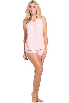 37e254561c Fishers Finery Women s EcoFabric™ Pajama Set - Sleeveless Top and Fitted  Short