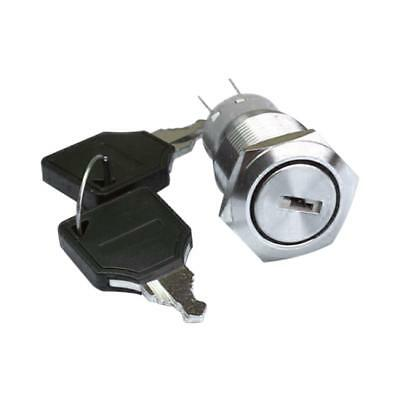 Stainless Steel Ignition Key Push Button Switch 19mm For Car Auto Boat
