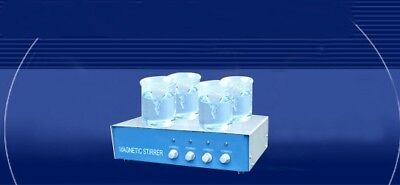 Magnetic Stirrer 4 Row, Laboratory Use