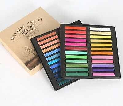 Maries Master Pastels Artist Sketching Chalk Pastel 48 PC Pastel Set New!