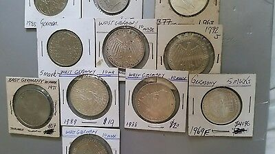 Germany coins silver
