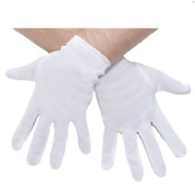 White Gloves Brand New Mens Plus Size