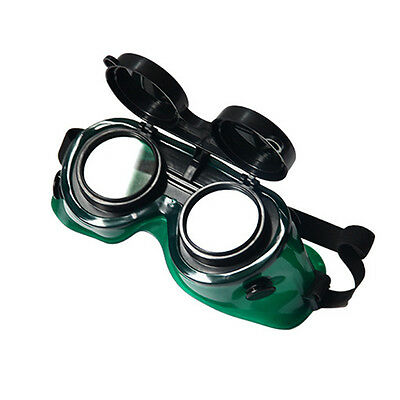 Welding Protect Glasses Protective Eyes Spectacle Goggles Flip-Up Len Eyewear