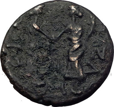 COMMODUS 177AD Gaza in Judaea HOLY LAND Area Authentic Ancient Roman Coin i64146