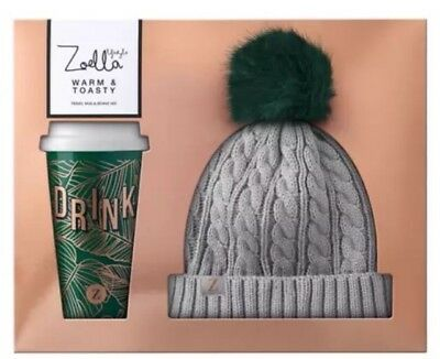 Zoella Lifestyle Warm & Toasty Hat Cup Christmas 2017 Gift Set