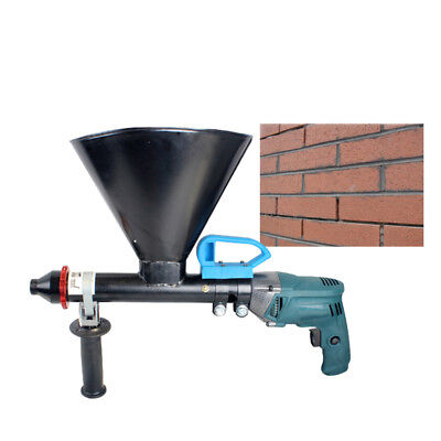Mortar Grout Electric Gun Patio Brick Pointing & Grouting Applicator Machine WCV