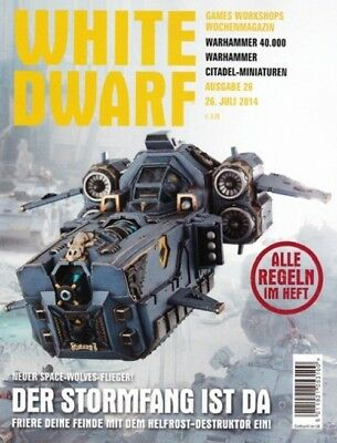 White Dwarf 26 July 2014 (German) by the 26 July 2014 Games Workshop