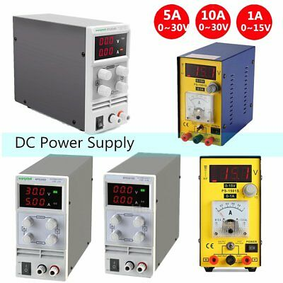 5A/10A 30V Variable Precision Switching DC Power Supply Adjustable Digital Lab j