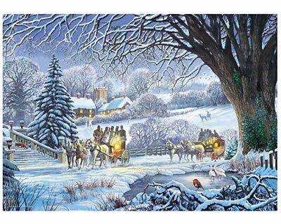 1000 jigsaw piece puzzle winter new  hobby adult Christmas games not many left