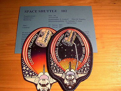 Missionsembleme Space Shuttle STS-98