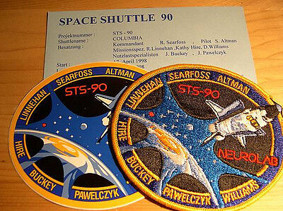 Missionsembleme Space Shuttle STS-90