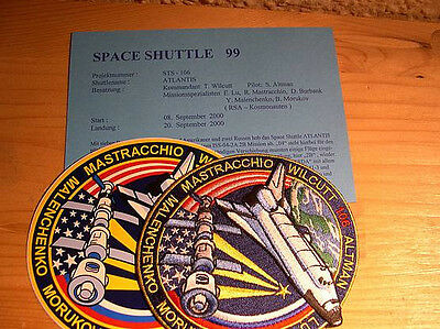 Missionsembleme Space Shuttle STS-106