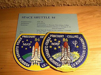 Missionsembleme Space Shuttle STS-84