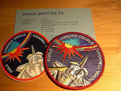 Missionsembleme Space Shuttle STS-56