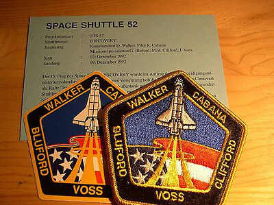 Missionsembleme Space Shuttle STS-53