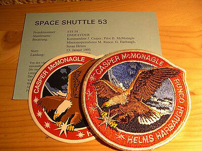 Missionsembleme Space Shuttle STS-54