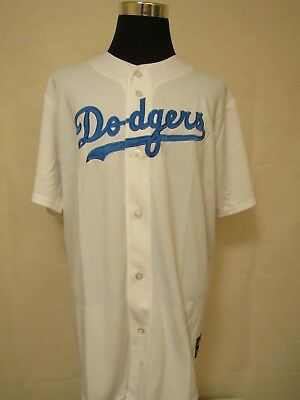 MLB Los Angeles Dodgers 2XL Embroidered HOME Baseball Jersey by Majestic