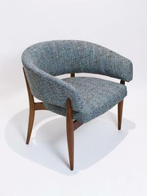 "Stunning Vintage 1960' Swedish Lounge Chair ""rondell""  By Erik Wörts For Ikea"