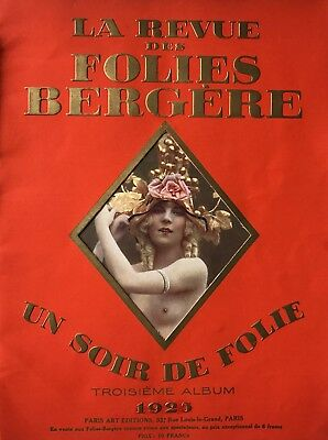 Follies Bergere Progam 1925