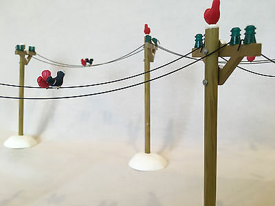 Dept 56 Village Telephone Poles 52656