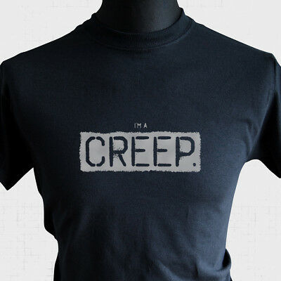 I'm a Creep T Shirt Radiohead Unofficial Tribute Cool Classic Band Music Tee