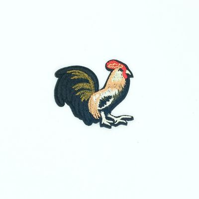 """Chicken Rooster Farm Embroidered Iron On Applique Patch 2 1//4/""""H Right"""