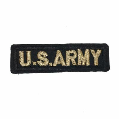 US Army Pilot Badge (Iron On) Embroidery Applique Patch Sew Iron Badge