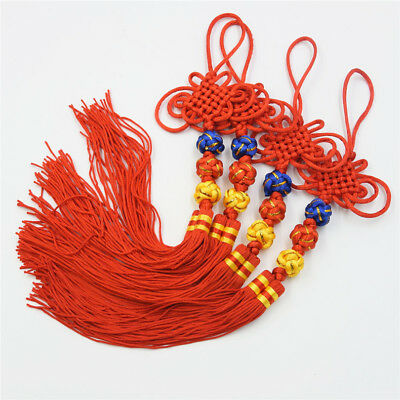 Chinese Knot Jubilant Tassel Home Decoration Festival Gift Crafts Pendant 30cm