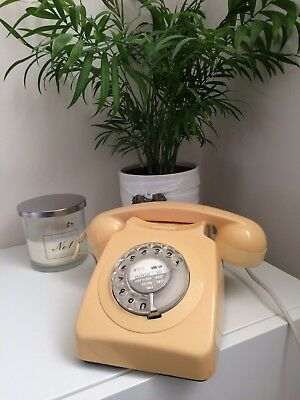Cream fully working Retro Telephone Late 70's open to offers