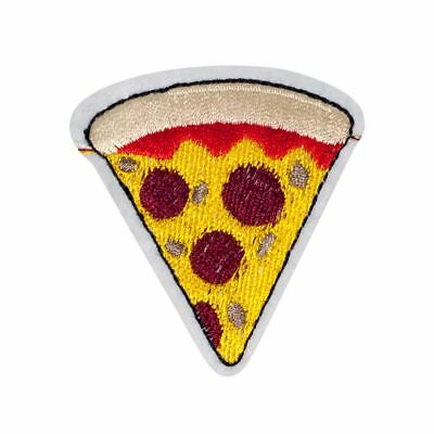 5dd60903570 PIZZA LOVE EMBROIDERED Logo Patch Badge Iron On   Sew On Fancy Dress ...