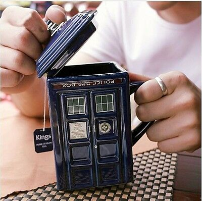 Dr.Who Doctor Who Tardis 3D Mug Mugs Police Box Coffee Cup Figure Toy in a box
