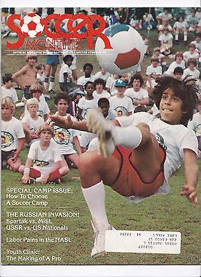 1979 USA v USSR + SPARTAK MOSCOW US TOUR (OFFICIAL USA SOCCER FEDERATION ISSUE)