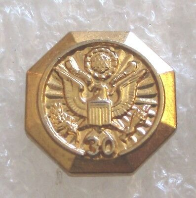 Vintage Government 30 Year Service Award Pin - US Government Employee