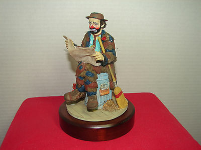 Emmett Kelly - Limited Edition - In the Spotlight - Stanton Arts w/box