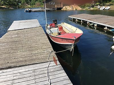 18' Lund Fishing Boat, 60 H.P. Mercury outboard