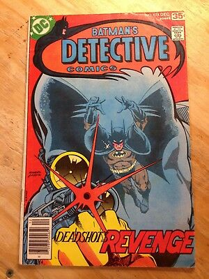 Detective Comics #474 1977 First Appearance of Deadshot Suicide Squad 3.5-4.0
