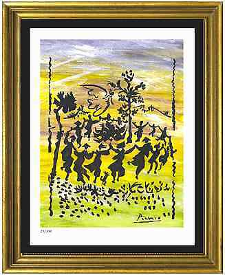 "Pablo Picasso Signed/Hand-Numbered Ltd Ed ""Long Live Peace"" Print (unframed)"