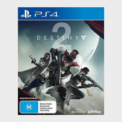 Brand NEW DESTINY 2 PS4 Playstation 4 (AU STOCK IN STOCK) + Steel Case