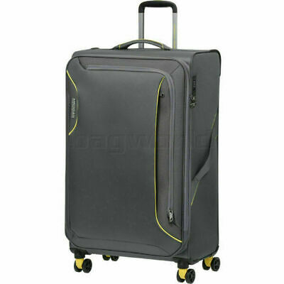 American Tourister Applite 3.0S Large 82cm Softside Suitcase Lightning Grey 9197