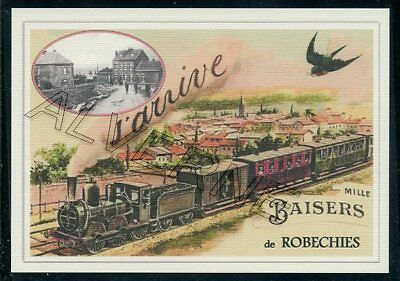 ROBECHIES ....train  souvenir  creation moderne serie limitee numerotee