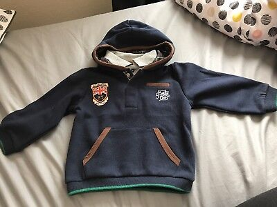Boys Mayoral Jumper Age 12 Months New With Tags