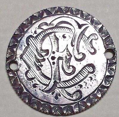 Fancy Design Love Token FC 1890 Seated Liberty Dime AU Free Shipping