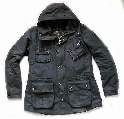 "Barbour "" Fog Wax Parka "" Jacket / Coat - Large - Quality Jacket That Cost £225"